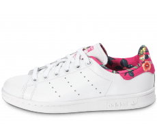 Chaussures adidas Stan Smith Floral blanche