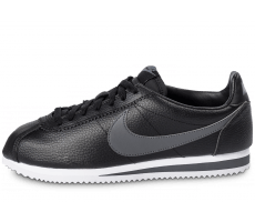 Chaussures Nike Cortez Leather noire
