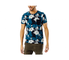 Textiles Jack & Jones T-Shirt Grow Flower bleu marine