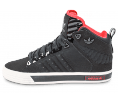 Chaussures adidas Freemont noire et rouge