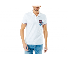 Textiles Jack & Jones Polo Tropical blanc