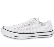 Chaussures Converse Chuck Taylor All-Star Perf OX blanche