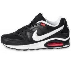 Chaussures Nike Air Max Command noire et blanche