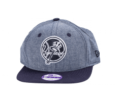 Accessoires New Era Casquette Snapback NY Chambray Enfant bleue