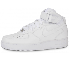 Chaussures Nike Air Force 1 Mid 07 Blanche