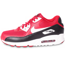 Chaussures Nike Air Max 90 Essential rouge et noire
