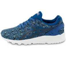 Chaussures Asics Gel Kayano Trainer Evolution Origami bleue Monaco