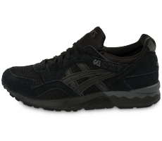 Chaussures Asics Gel Lyte V Lights Out noire