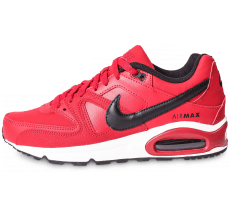 Chaussures Nike Air Max Command Leather rouge et noire