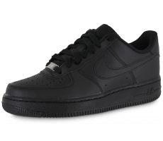 Chaussures Nike AIR FORCE 1 JUNIOR NOIRE