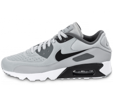 Chaussures Nike Air Max 90 Ultra Essential grise et noire