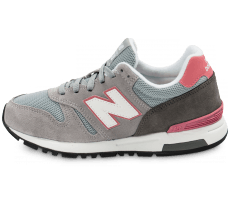 Chaussures New Balance WL565 GT grise