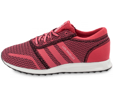 Chaussures adidas Los Angeles rose