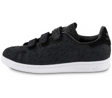Chaussures adidas Stan Smith Cf Velcro noire