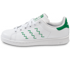 Chaussures adidas Stan Smith ZigZag Blanche