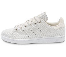 Chaussures adidas Stan Smith Snake blanche