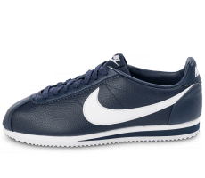 Chaussures Nike Cortez Leather bleu marine