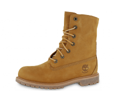 Chaussures Timberland BOOTS AUTHENTICS BEIGE FOURRÉE