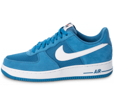 Chaussures Nike Air Force 1 Suede bleue
