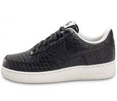 Chaussures Nike Air Force 1 07 LV8 Snake noire