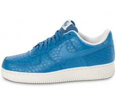 Chaussures Nike Air Force 1 07 LV8 bleue