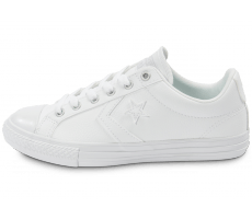Chaussures Converse Star Player Cuir blanche