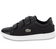 Chaussures Lacoste Carnaby Evo enfant noire