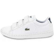 Chaussures Lacoste Carnaby Evo enfant blanche