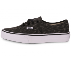Chaussures Vans Authentic junior noir et blanc