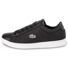 Chaussures Lacoste Carnaby Evo Junior Textile noire