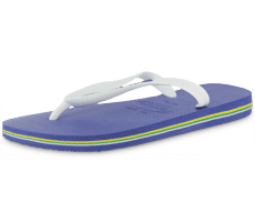 Chaussures Havaianas TONG BRAZIL LOGO BLEUE