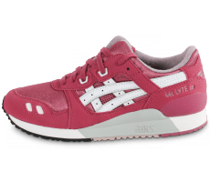 Chaussures Asics Gel Lyte 3 Junior rose et blanche