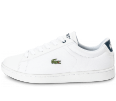 Chaussures Lacoste Carnaby Evo Junior Textile blanche