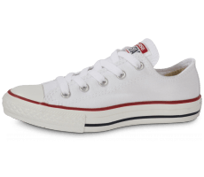 Chaussures Converse Chuck Taylor All Star enfant basse blanche
