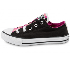 Chaussures Converse Chuck Taylor All-Star Loopholes Enfant noire