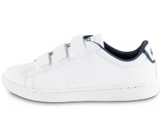Chaussures Lacoste Carnaby Enfant blanche