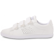 Chaussures Le Coq Sportif Agate lo Strap leather blanche