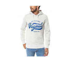 Textiles Jack & Jones Sweat Break Hood gris clair