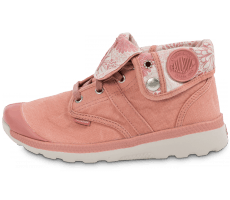 Chaussures Palladium Pallaville Baggy Old rose