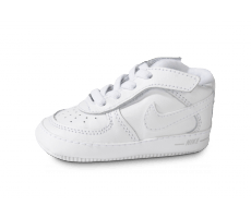 Chaussures Nike CHAUSSONS AIR FORCE 1 BÉBÉ BLANC