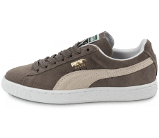 Chaussures Puma Suede Classic W grise