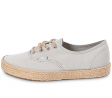 Chaussures Vans Authentic Espadrille grise