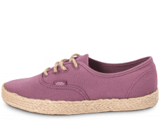 Chaussures Vans Authentic Espadrille bordeaux