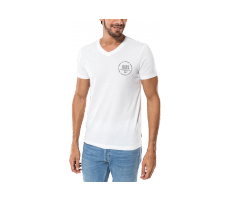 Textiles Jack & Jones T-Shirt Eighty V Neck blanc