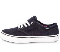 Chaussures Vans Camden Stripe Canvas bleue marine