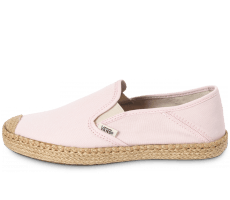 Chaussures Vans Slip-On Espadrille rose
