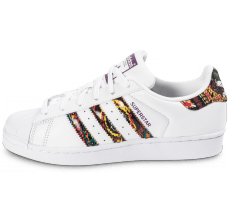 Chaussures adidas Superstar Farm Company blanche