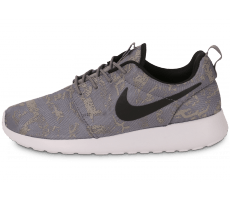 Chaussures Nike Roshe One Print grise
