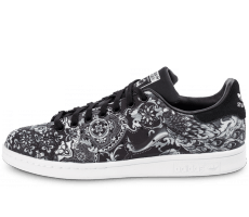 Chaussures adidas Stan Smith Print noire