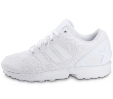 Chaussures adidas Zx Flux 3D Tropical Blanche